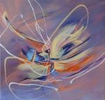 Exuberance      acrylics on canvas 36×36$850