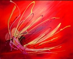 Lady's Slipper                                            acrylics on canvas                                     24×30 inchesSOLD